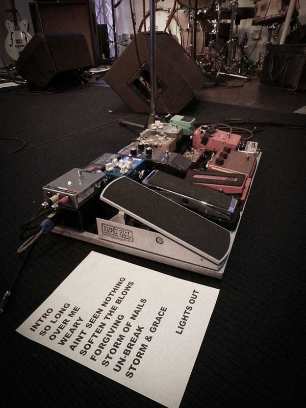 ml footpedal set list